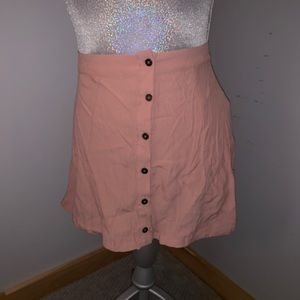 Forever 21 Pink Nude Skirt